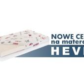 Zmiana cen dla materaca Hevea Junior